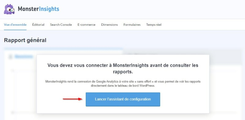 Monsterinsights Configuration Analytics
